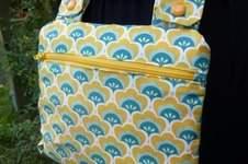 Makerist - Retro Tasche - Multimade Bag - 1