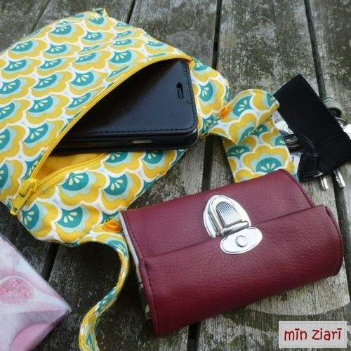 Makerist - Retro Tasche - Multimade Bag - Nähprojekte - 2