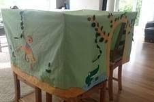 Makerist - Tischzelt Spielzelt für eine Kindergartengruppe - 1