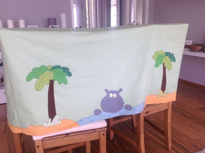 Makerist - Tischzelt Spielzelt für eine Kindergartengruppe - Nähprojekte - 3