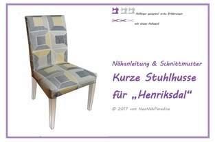 Makerist - Schnittmuster & Anleitung für IKEA Stuhl HENRIKSDAL - 1