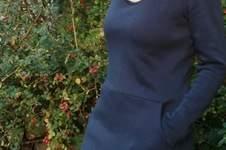 Makerist - Maritime Frau Fannie aus Kuschelsweat - 1