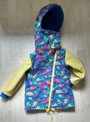 Makerist - Softshell Jacke für meinen Sohn zwei Nummern größer - 1