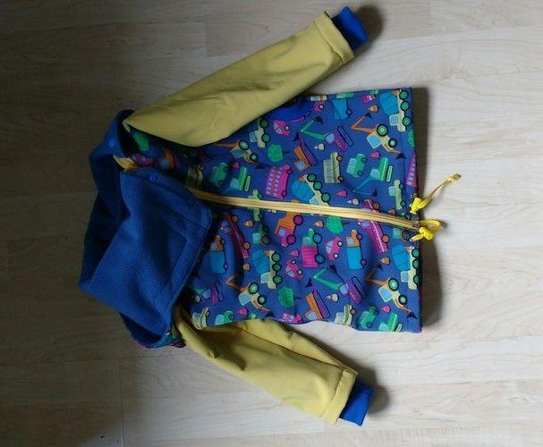 Makerist - Softshell Jacke für meinen Sohn zwei Nummern größer - Nähprojekte - 2