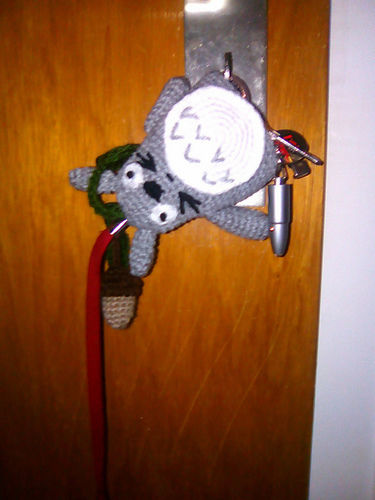 Makerist - Totoro Schlüsselverstecker - Häkelprojekte - 2