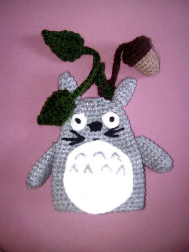 Makerist - Totoro Schlüsselverstecker - Häkelprojekte - 3