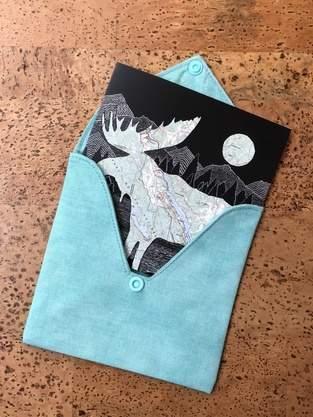 Makerist - Briefumschlag aus Stoff für Hochzeitskarte - 1
