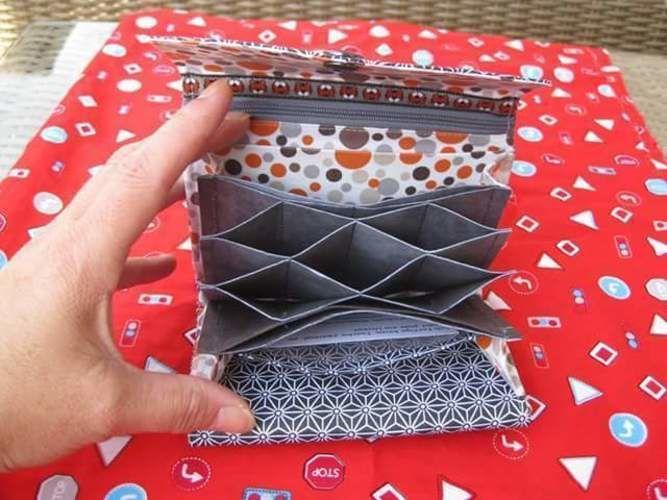 Makerist - Ein Portmoney namens Genius von Wittsich für Frau G. - Nähprojekte - 2