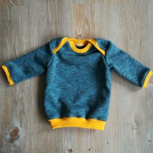 Makerist - Schlupfshirt für Neugeborenen - Nähprojekte - 1