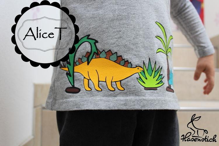 Makerist - Die Dinos sind los - Textilgestaltung - 2