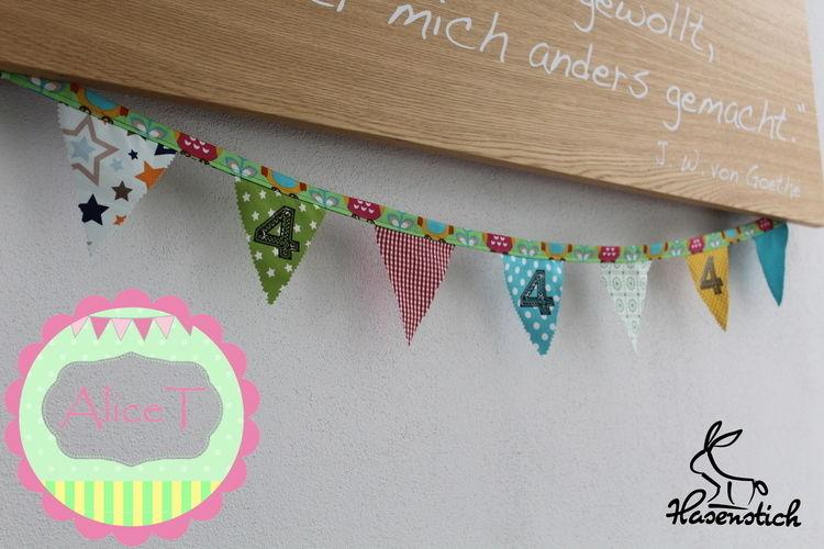 Makerist - Geburtstagszahlen - Textilgestaltung - 1
