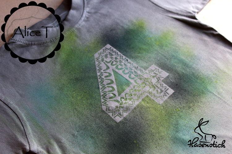 Makerist - Geburtstagszahlen - Textilgestaltung - 2