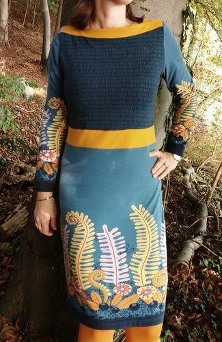Makerist - Frau Marlene als Kleid mit abgewandeltem Ausschnitt - Nähprojekte - 3