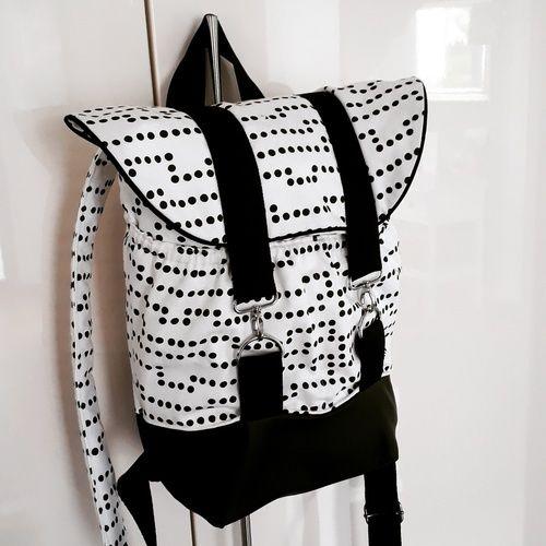 Makerist - Pakke in schwarzweiß - Nähprojekte - 1