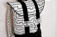 Makerist - Pakke in schwarzweiß - 1