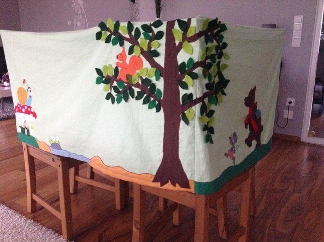 Makerist - Spielzelt Tischhusse für eine Kindergartengruppe - DIY-Projekte - 3