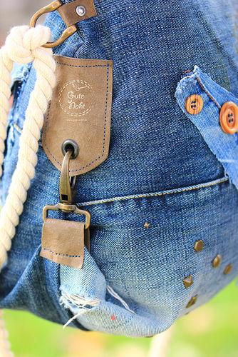 Makerist - Upcycling extrem - Casual Bag aus Jeans für die urbane Frau ;-) - Nähprojekte - 3