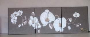 Makerist - triptyque orchidées - 1
