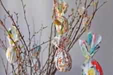 Makerist - Stoff-Ostereier für die Frühlingszweige - 1