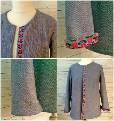 Makerist - Jacke aus Sweat - Nähprojekte - 1
