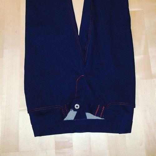 Makerist - Selbst genähte Jeans nach eigenem Schnittmuster - Nähprojekte - 1