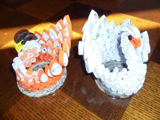 Makerist - Quilling - Cygne blanc - Autres créations - 3