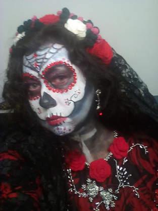 Makerist - Blumenkranz für Halloween - 1