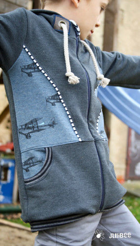 Makerist - Sweatjacke Philipp von Engelinchen Design - Nähprojekte - 1