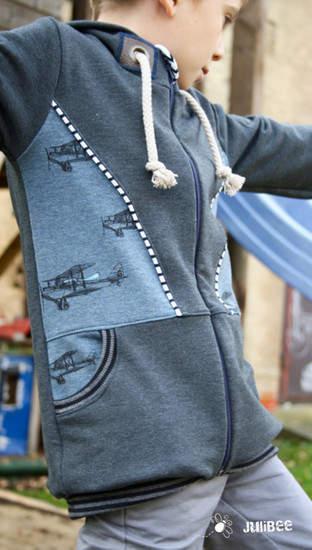 Makerist - Sweatjacke Philipp von Engelinchen Design - 1