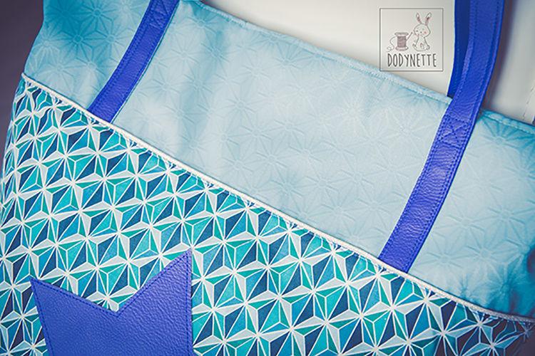 """Makerist - Concours Novembre : Le sac de plage """"Summer Bag"""" de Jane Emilie  - Créations de couture - 2"""
