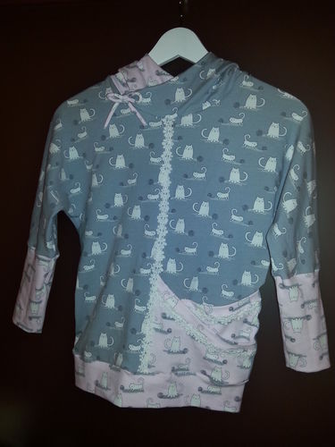Makerist - Fledermausshirt für Mädchen - Nähprojekte - 1