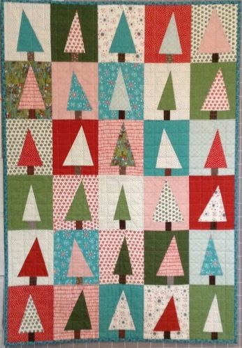 Makerist - Wonky Christmastrees - Patchwork-Projekte - 1