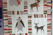 Makerist - Winter-Weihnachtsquilt - 1