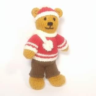 Makerist - Christmas Bitsy Boy Teddy - 1