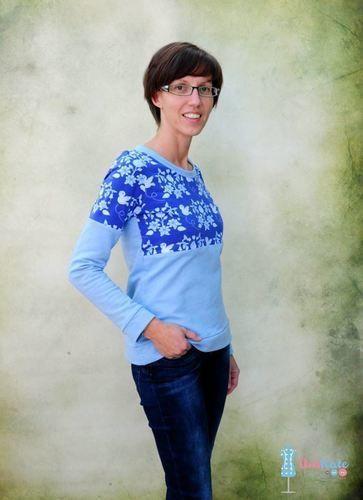 Makerist - Basicshirt Miss Anna - Nähprojekte - 1