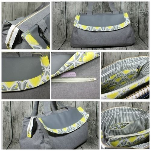 Makerist - UniStar von UniBunt !! Sehr coole Handtasche - Nähprojekte - 2