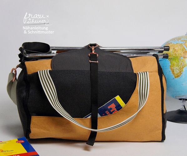 Makerist - Reisetasche Yoda - Nähprojekte - 2
