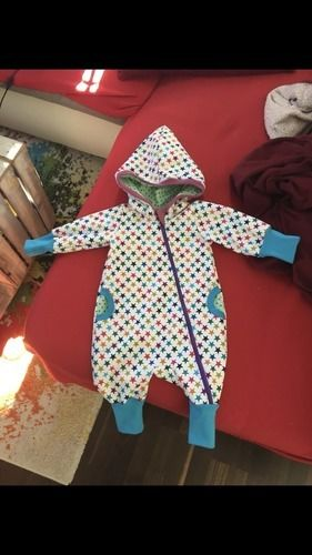 Makerist - Overall Sterne aus Softshell - Nähprojekte - 2