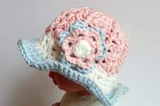 Makerist - Baby-Frühlingshut - 1