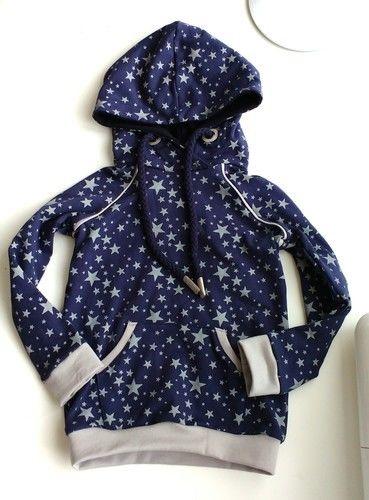 Makerist - Hoodie Himmlischer Vince aus Sternen-Sweat - Nähprojekte - 1