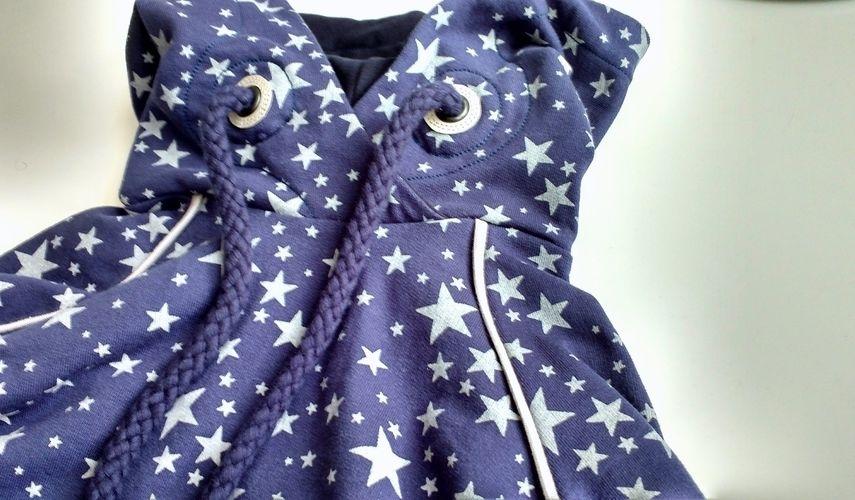 Makerist - Hoodie Himmlischer Vince aus Sternen-Sweat - Nähprojekte - 2