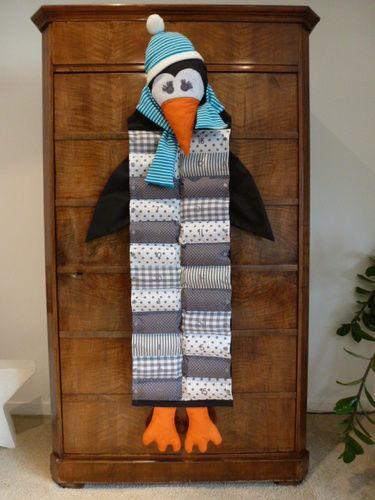Makerist - Gustav Gabenbringer als Pinguin - Nähprojekte - 1