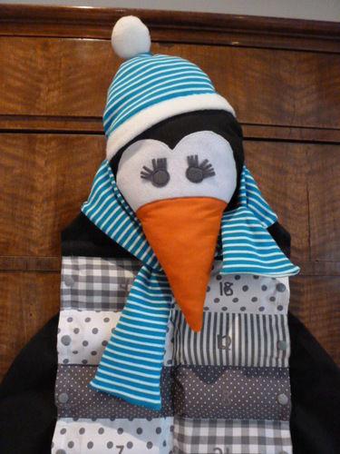 Makerist - Gustav Gabenbringer als Pinguin - Nähprojekte - 2