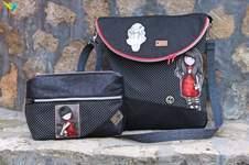 Makerist - Set SchickiMicki Flapbag und das SchickiMicki Kosmetiktäschchen  - 1
