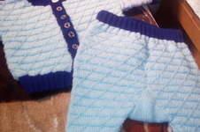 Makerist - Baby Jäckchen mit Höschen für mein Enkelbaby - 1