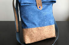 Makerist - Shoulder bag with cork fabric - 1