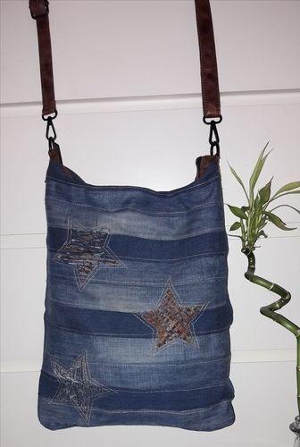 """Makerist - ❤ CHOBE❤ wie aus meine alten jeans und Tasche eine """"neue Tasche"""" würde - Nähprojekte - 2"""