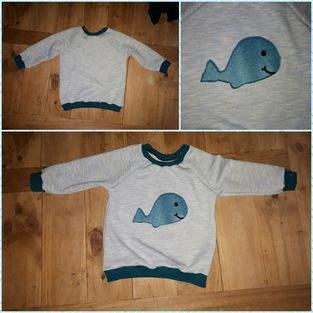 Makerist - Wal hoodie  - 1
