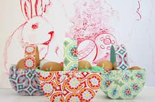Makerist - Osterkorb aus Tonpapier und Stoff in 10 Minuten - 1
