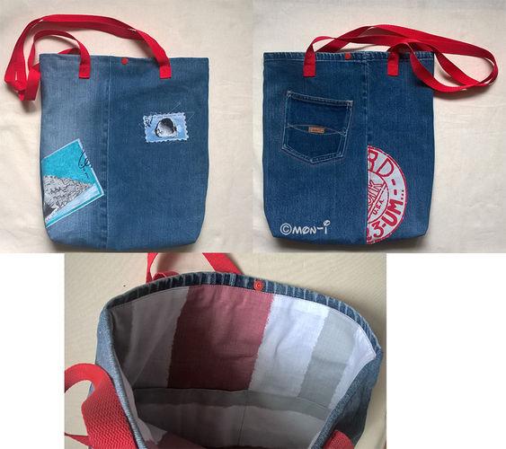 Makerist - Ucycling Tasche - Nähprojekte - 3